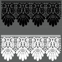 Fancy Lace Brushes