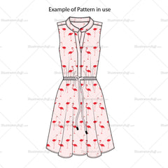Flamingo Repeating Pattern