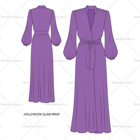 Hollywood Glam Robe