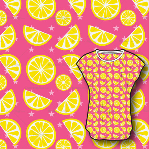 Lemon Artwork All Over Print