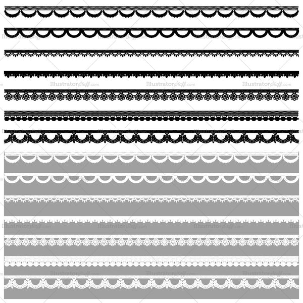 Lace Pattern Brush Library