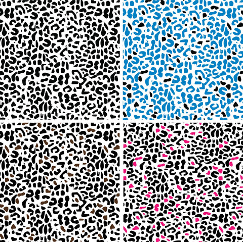 {Illustrator Stuff} Leopard Print Repeating Textile Pattern