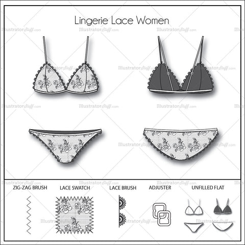 Laced Lingerie Women