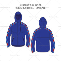Men Snow And Ski Jacket