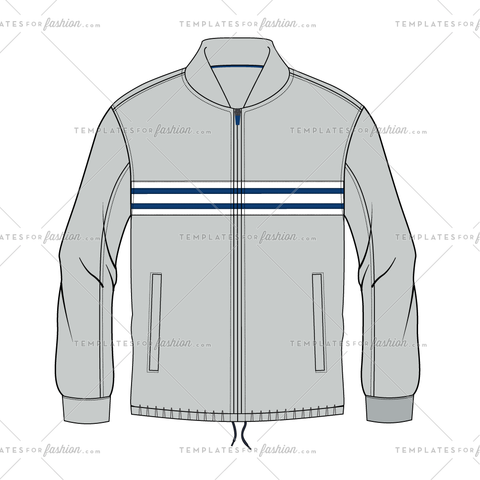 MOTO JACKET FASHION FLAT VECTOR FILE