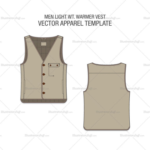 Men Light Weight Warmer Vest