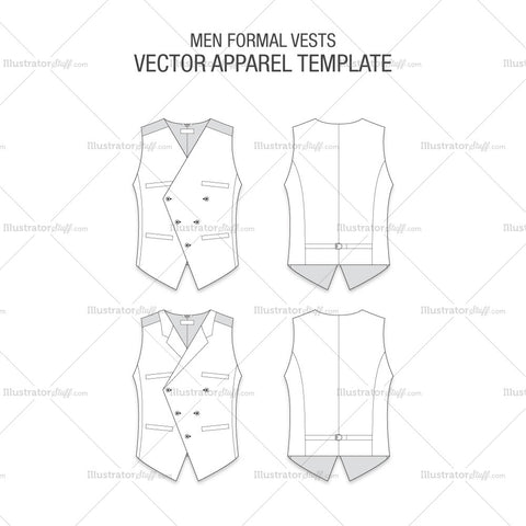 Men Formal Vests Fashion Flats
