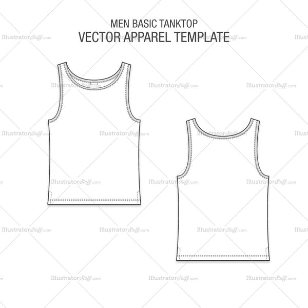 Men Basic Tanktop