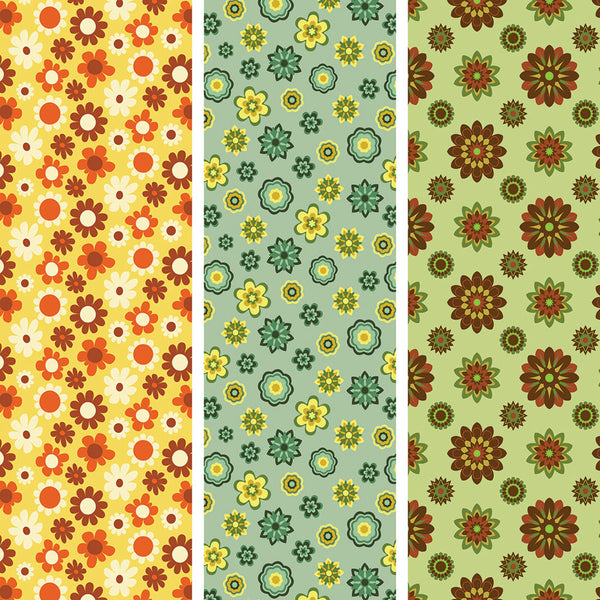 {Illustrator Stuff} Floral Repeating Pattern