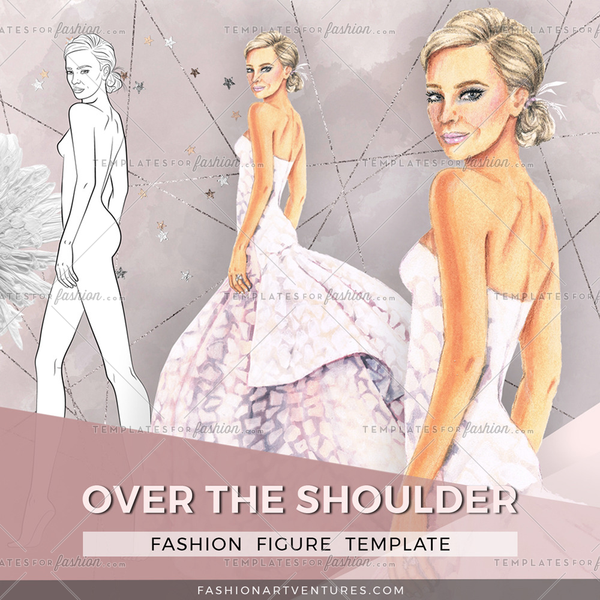 OVER THE SHOULDER PREMIUM FASHION FIGURE