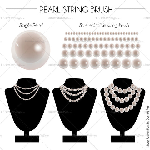 Pearl String Brush
