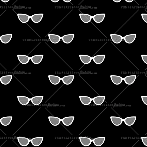 Retro Sunnies Print