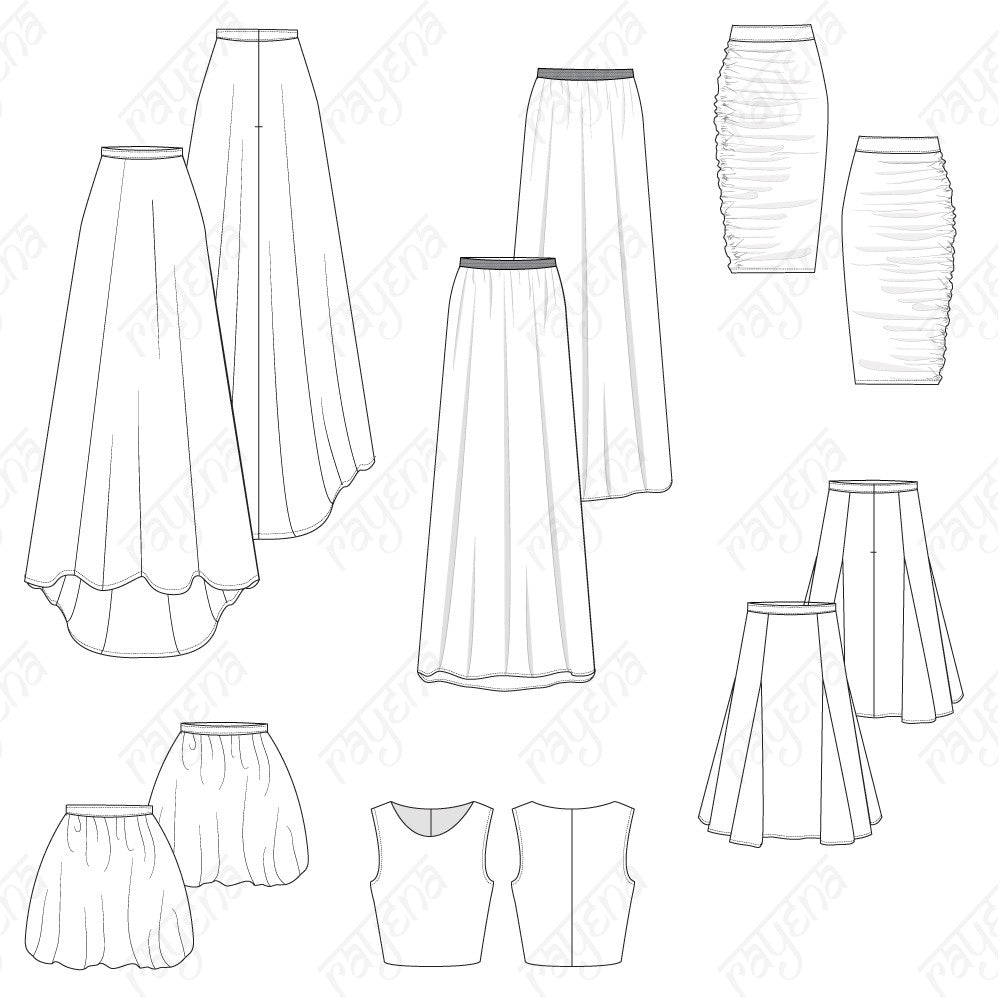Patterns also Measure furthermore 6 Gore Skirt Pattern in addition 275282595945973783 additionally Womens Pleated Pants Fashion Flat Template. on sewing pencil skirt