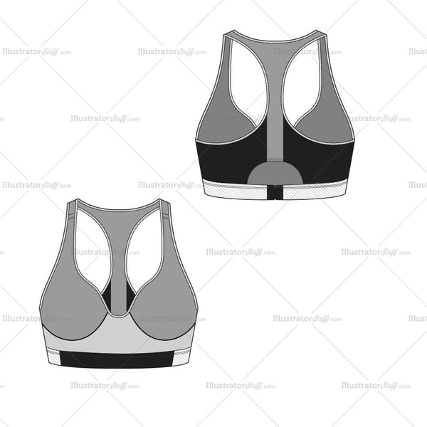 Sports Bra - Activewear Basics By Schauminchanel