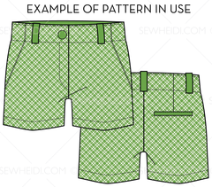 {Illustrator Stuff} Sew Heidi Gingham Repeating Pattern
