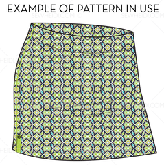 {Illustrator Stuff} Sew Heidi Repeating Retro Burst Pattern