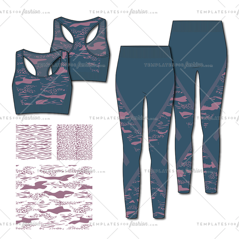 Women's Active Tops And Bottoms