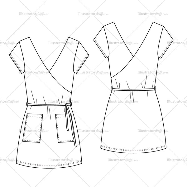 Male Fashion Croquis Template 4 besides Womens One Piece Sport Bathing Suit Fashion Flat Template furthermore Quilted Bomber Jacket Flat Template also Knitted Cap Scarf And Gloves Fashion Flat Template as well Womans Stretch Short Summer Wrap Dress Fashion Flat Template. on more 2233