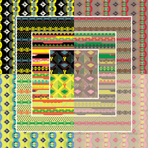 Tribal Repeating Pattern