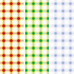 {Illustrator Stuff} Gingham Plaid Seamless Repeating Pattern