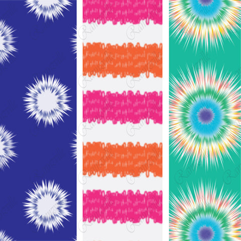 {Illustrator Stuff} Tie Dye Repeating Pattern