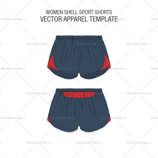 Women Shell Sport Shorts