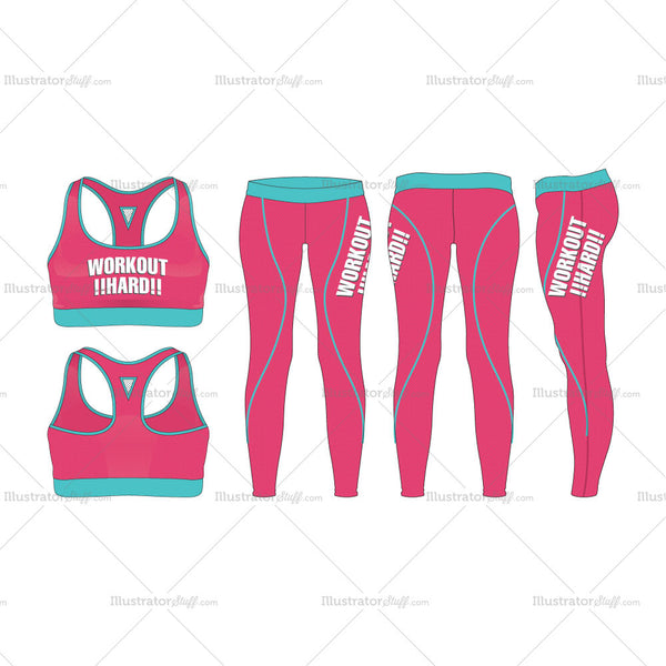 Women's Workout Training Set