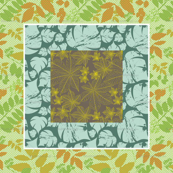 Leaf Inspired Repeating Pattern
