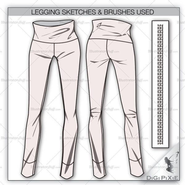 Legging Flat Templates