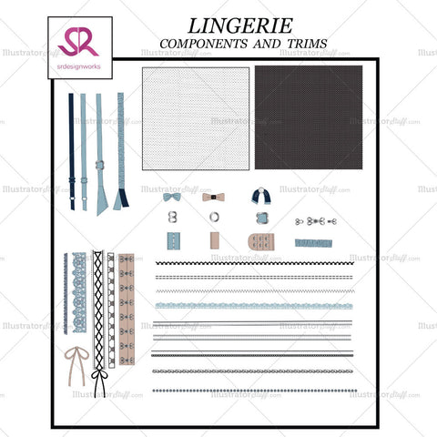 Lingerie Components And Trims