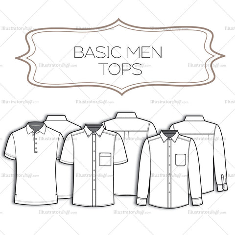 Men Basic Tops
