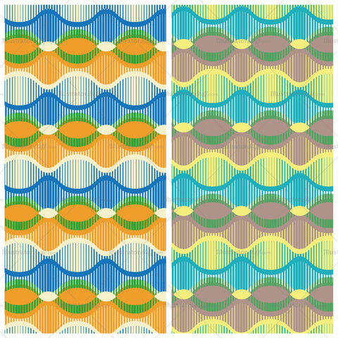 Line Moire Repeating Pattern