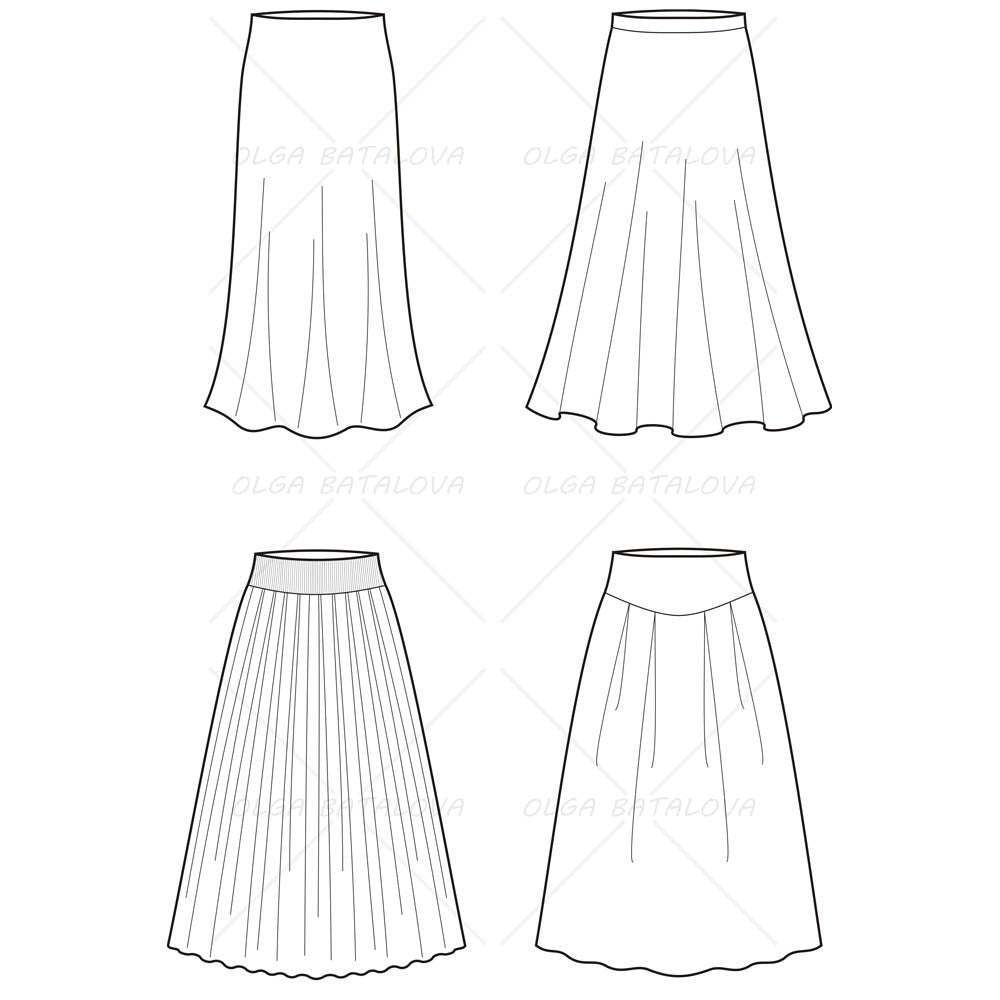 Details as well Fashion Designer Sewing Patterns Sleeveless Ruffle Neck Blouse furthermore Adobe Illustrator Fashion Flat Sketch Templates besides How To Draw A Toy Poodle likewise T40034. on drawing long skirt