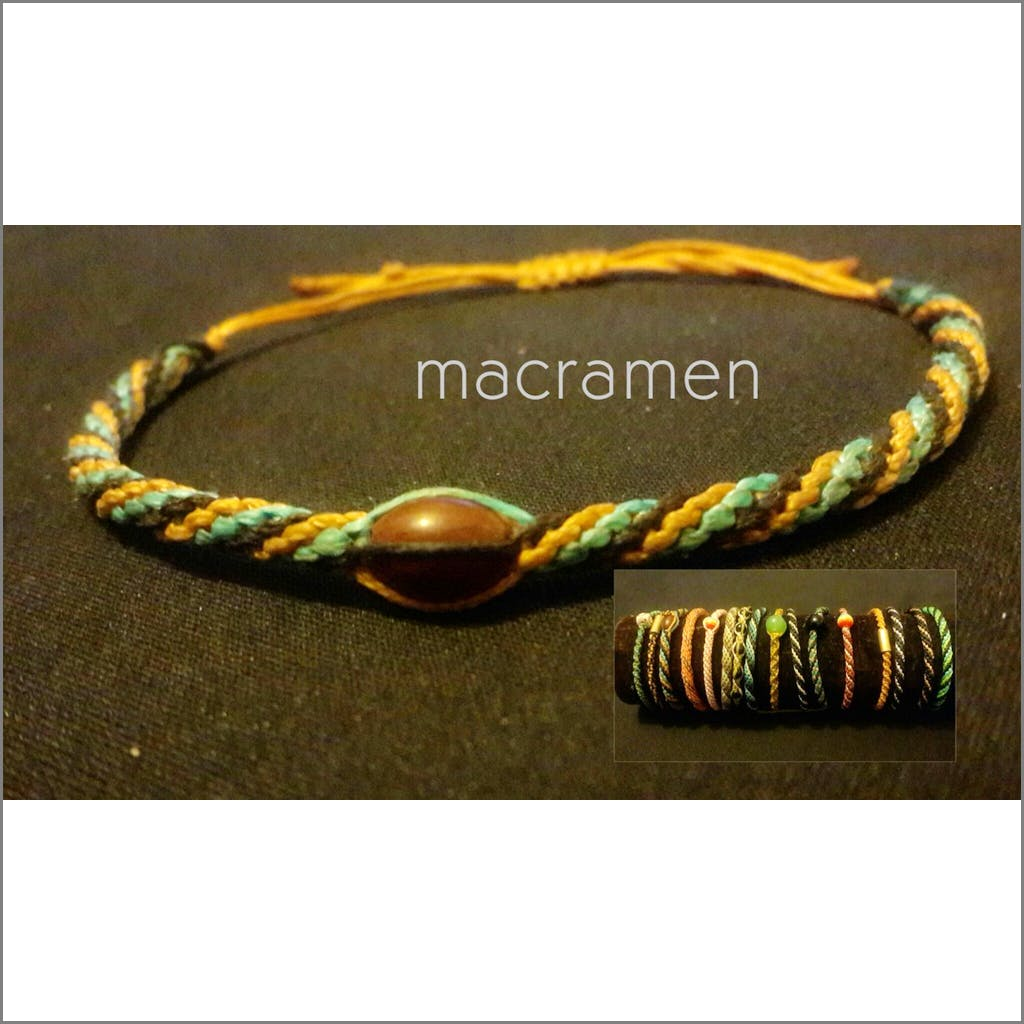 friendship bracelets unique micro macrame jewelry collections Friendship Bracelet Macramen Inc. $5.00 Macramen Jewelry