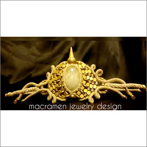 Rainbow Moonstone Tiara & Crown by Macramen Jewelry Collection No.0105 Tiara & Crown Macramen Inc. $68.00 Macramen Jewelry