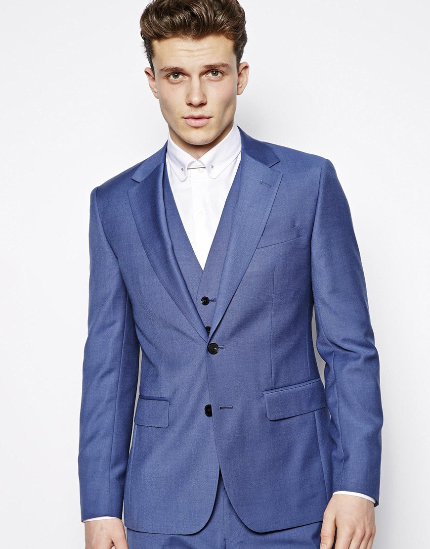Blue Suit Jacket Regular