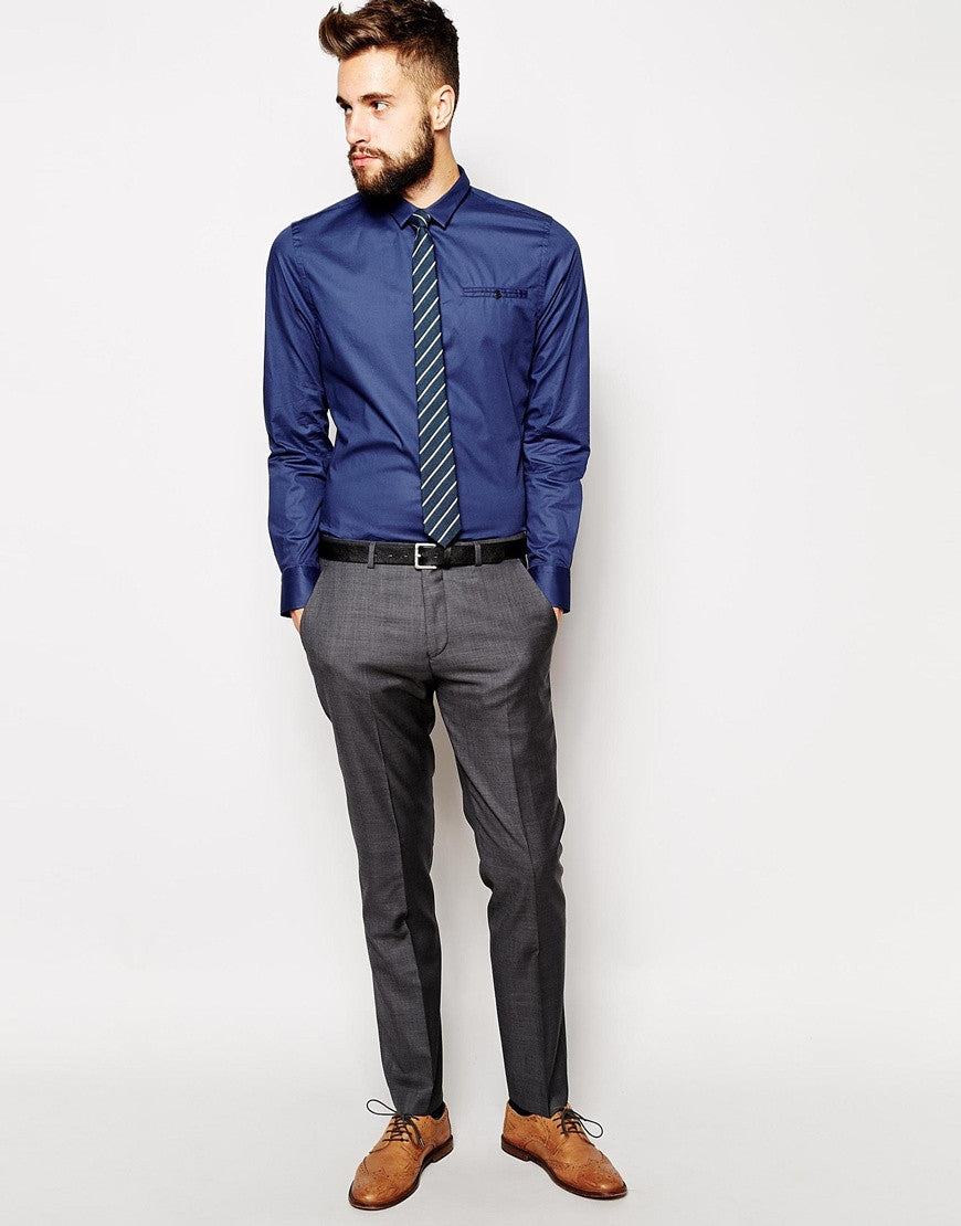 Cotton Stretch Formal Shirt Skinny Fit Thumbnail