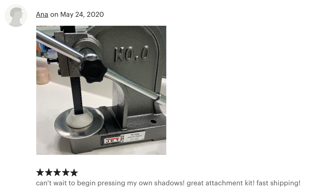 The Powder Press Review 11 - Indie Cosmetic Press for eye shadow and face powder - ThePowderPress.com