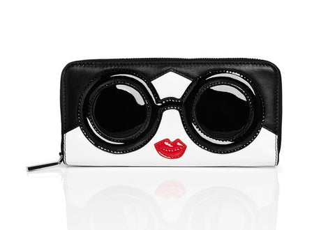 Alice + Olivia Stace Face Zip Wallet