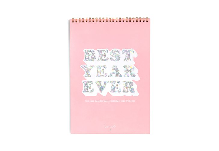 Ban.do Best Year Ever Wall Calendar