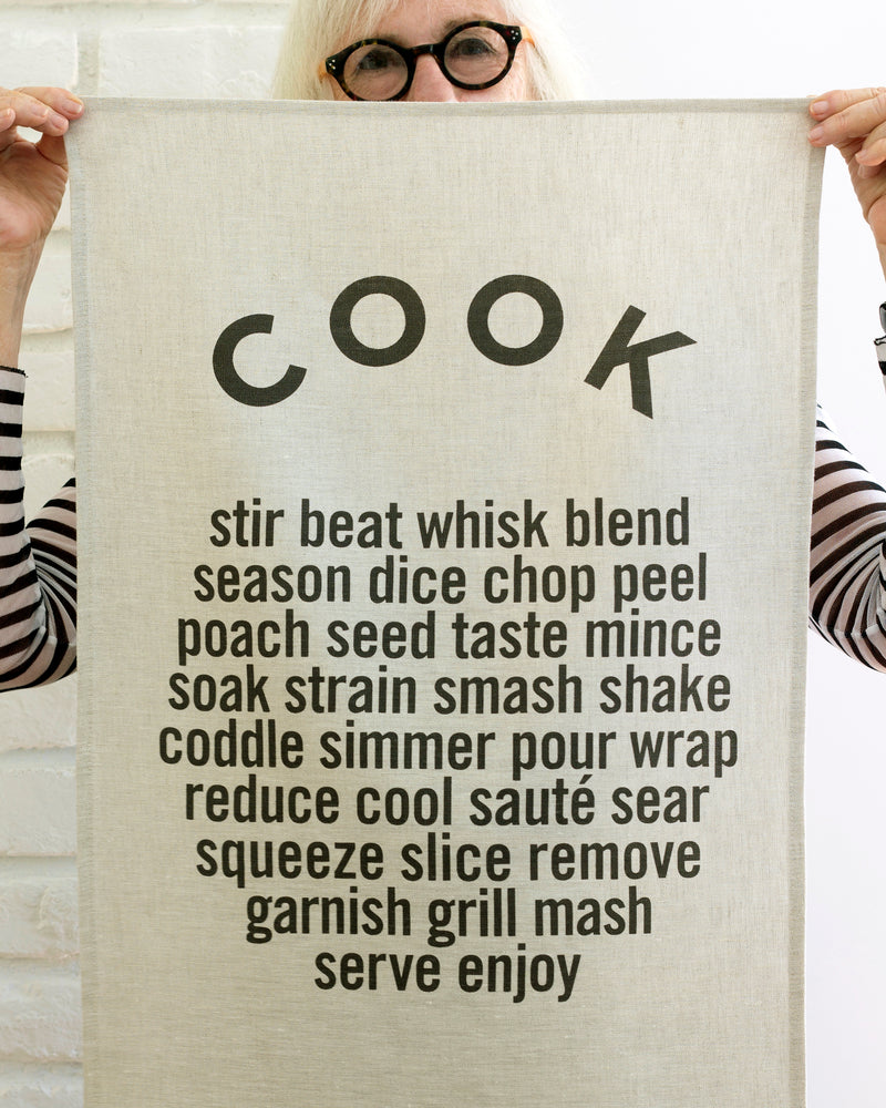COOK Tea Towel