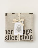 SAVOR Tea Towel