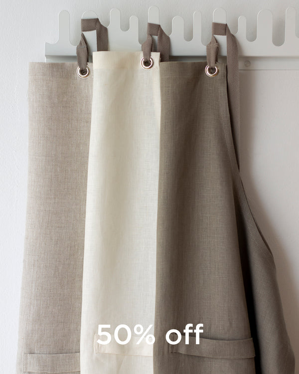 Kitchen Apron in Neutrals - SECONDS
