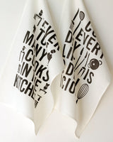 Delicious Life Tea Towel