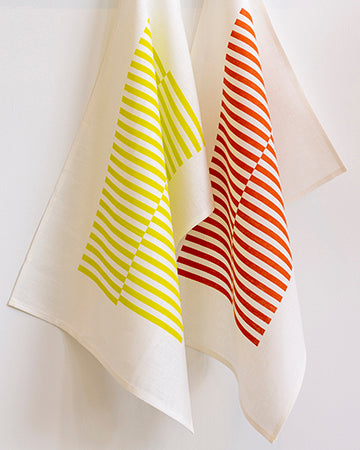 Ponti Tea Towel in Tomato