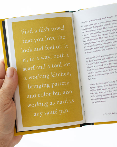 How to Wash the Dishes Book + Towel Set