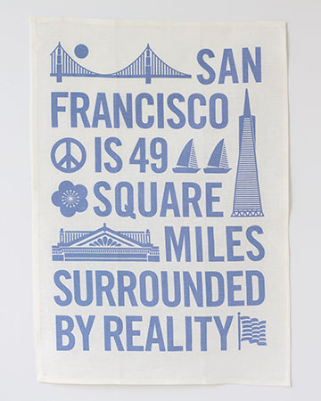 San Francisco Tea Towels - Set of 3