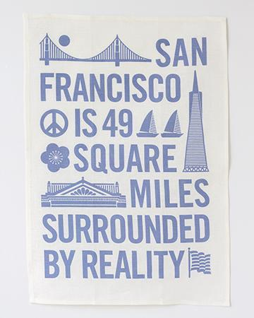 Reality Tea Towel