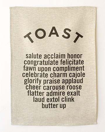 TOAST Tea Towel