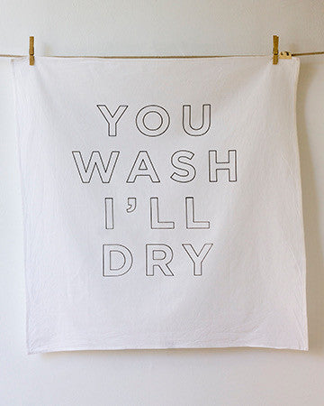 Wash + Dry Flour Sack Towels - Set of 2